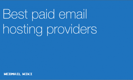 Best paid email hosting providers