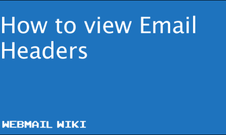 How to view Email Headers